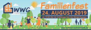 Familienfest der WWG @ Schlossgarten Wolmirstedt