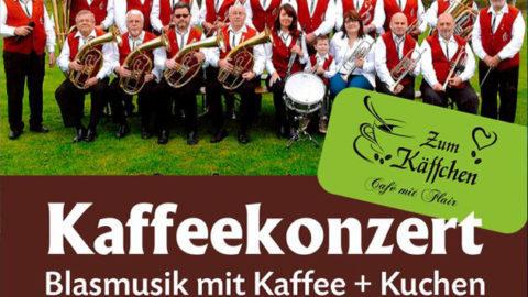Kaffeekonzert – Blasmusik mit Kaffee und Kuchen